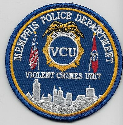 VCU Memphis Police Violent Crimes Unit State of TENNESSEE TN Shoulder Patch