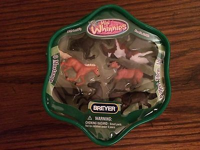 Breyer 300118 Set of 6 Mustangs from the Mini Whinnies Collection - New in Packa