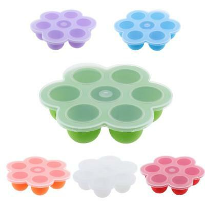7 Cups Baby Weaning Food Freezing Tray Pots Freezer Storage Containers BPA Free