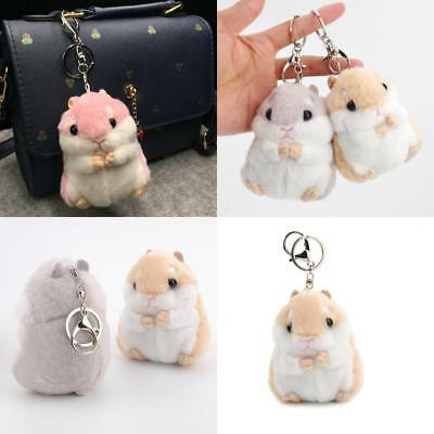Fashion accessories  Sweet Soft Stuffed Gift Girl Doll Key Small Hamster Toy