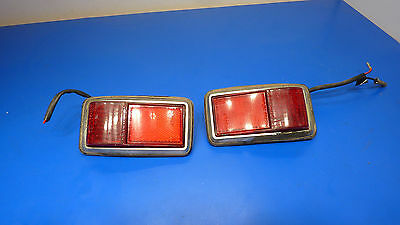 1979 Honda Civic 1st Generation,Rear  Side Marker Lights Driver and Pass,USED