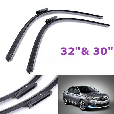 2x Window Front Wiper Blade 32''/30'' Fit For Citroen C4 Grand Picasso Onwards