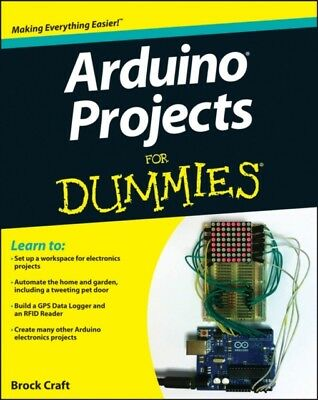 Arduino Projects For Dummies (Paperback), Craft, Brock, 9781118551479