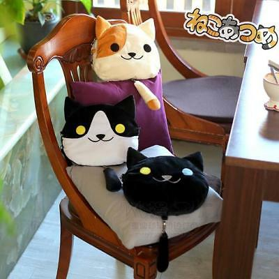 1pc Japanese Game Neko Atsume Backyard Lolita Cute Cat Plush Shoulder Bag