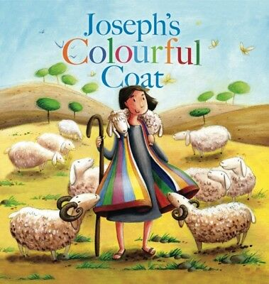 My First Bible Stories Old Testament: Joseph's Colourful Coat (Pa. 9781848358935