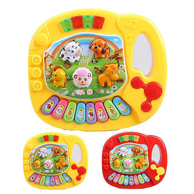 Kid Toddler Baby Animal Farm Piano Music Develop Toy Musical Educational Toy Hot