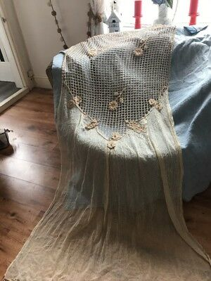 Vintage Lace Panel Crochet Stunning Cream French?