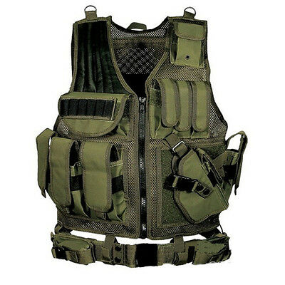 Outdoor Hunting Army Military Paintball Tactical Protective AIRSOFT Vest Jacket