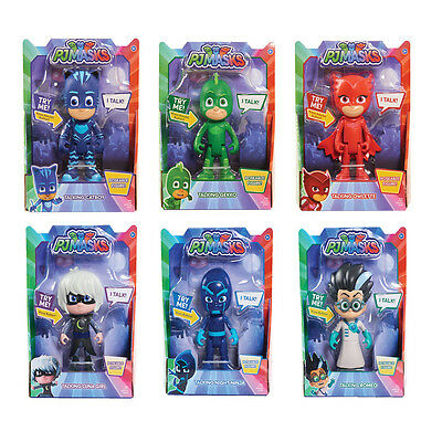 PJ Masks Deluxe Talking Choice Of Characters (ONE SUPPLIED) NEW