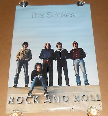 The Strokes Rock and Roll Poster Original 34x24 Anabas #AA850 RARE