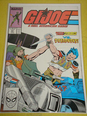 Gi Joe #81 A Real American Hero Marvel Comics Vol1 December 1988