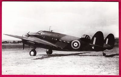 WW2 RAF Lockheed Hudson Light Bomber Photo by Real Photograph Co Ltd