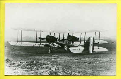 WWI RFC Airco Havilland DH.10 Bomber Rear View Photo by Real Photograph Co Ltd