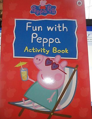 PEPPA PIG - FUN  WITH PEPPA ACTIVITY  BOOK   16 full colour  pages   new