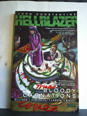 GRAPHIC NOVEL: JOHN CONSTANTINE HELLBLAZER - BLOODY CARNATIONS  Paperback 2011
