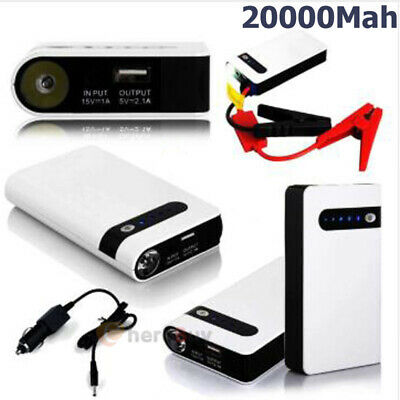20000mAh Car Jump Starter Engine Battery Charger Power Bank Jumper 12v With Box