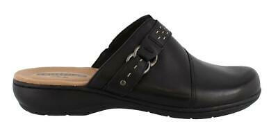Clarks Leisa Sadie Slip On  Leather Womens Clogs