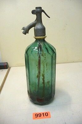 Nr. 9910.   Alte Sodaflasche  Siphonflasche 1 L  Old Soda Siphon Seltzer Bottle