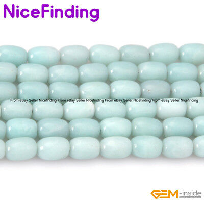"Natural Amazonite Gemstone Loose Beads Lot For Jewelry Making 15"" Assorted Shape"