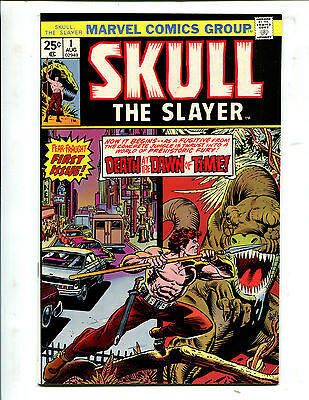 Skull The Slayer #1 The Coming Of Skull The Slayer! (9.2Ob) 1975
