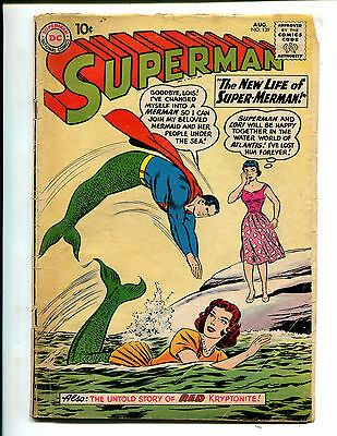 Superman #139 The New Life Of Superman! (2.0) 1960
