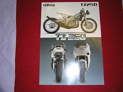 Yamaha TZ250 '97 Specification Sheet. Produced by Yamaha. New