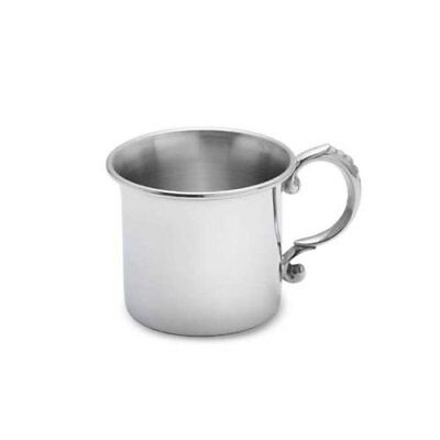 Lunt Pewter Classic Baby Cup 6oz Baby Feeding Gift Sets, New