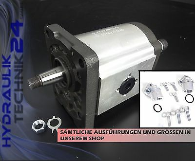 Hydraulic Pump BG2 6 - 30 CCM Left or Clockwise Rotation - with without Flange