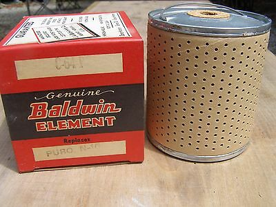 NOS Baldwin Element Oil Filter C-64-P Replace Purolator N-15 P64