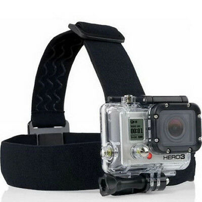 Camera Head Strap Outdoor Mount Belt Elastic Headband For GoPro HD Hero series