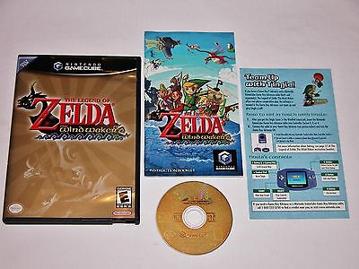 Legend of Zelda The Wind Waker Complete for Nintendo GameCube & Wii System