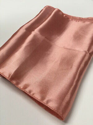 Rose Gold Satin Fabric Table Runner Wedding Party Decoration Chair Sash Tie