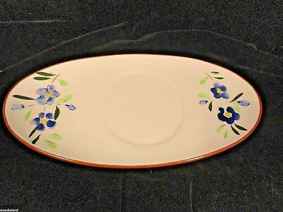 Vintage Stangl Pottery White Flowers Country Gardens UnderLiner AS IS Dinnerware