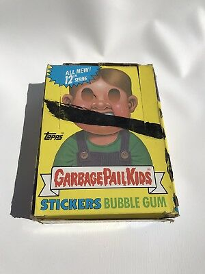 1988 Topps Garbage Pail Kids Series 12 Box 48 Factory Sealed Wax Packs Stickers