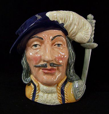 Royal Doulton Athos Large Character Jug - D6827 - Special Edition Colourway!