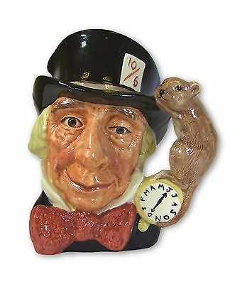 Royal Doulton - Mad Hatter - Large Character Jug - D6598 - Made in England!