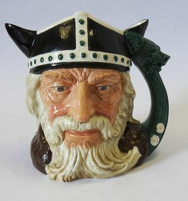 "Royal Doulton Character Jug ""The Viking"" D6496 Large! Made in England!"