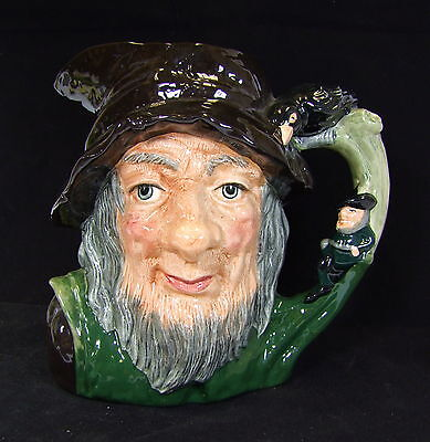 Royal Doulton Rip Van Winkle Large Character Jug - D6785 - Made in England!