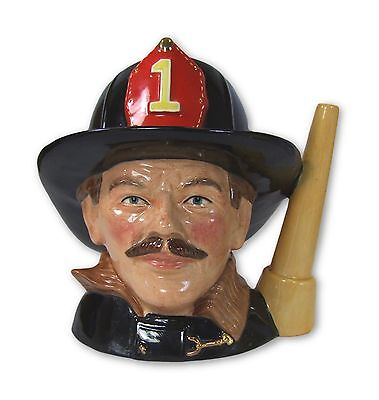 Royal Doulton - The Fireman - Large Character Jug - D6697 - Made in England!