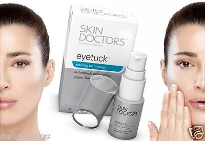 SKIN DOCTORS EYETUCK Reduce under eye puffy eye-bags in 2 weeks smooths eye bags