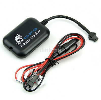 Black Real Time AGPS Tracker LBS Tracking Tool for Car Motorcycle Bike New CA