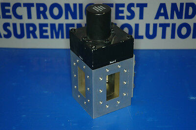 Sector Microwave Model 2AFS C Band Waveguide (WR137) changeover switch. 28V coil