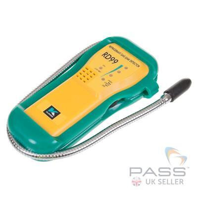Kane RD99 Low Cost Refrigerant Leak Detector - Six Gas Types,Gooseneck Probe /UK
