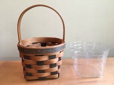 Longaberger 1988 Resolution Basket with Protector