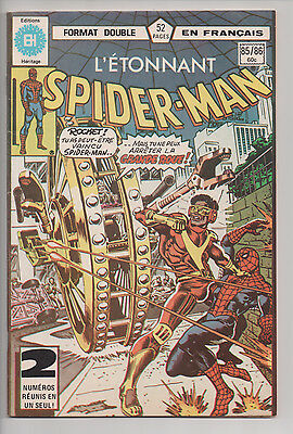 SPIDER-MAN #85/86 french comic français EDITIONS HERITAGE