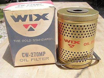 NOS Wix Oil Filter CW-270MP Ford Trucks AC PF-344 Fram CH-330PL Hastings 121
