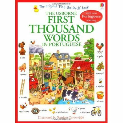 First Thousand Words in Portuguese (Usborne First Thous - Paperback NEW Heather