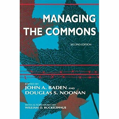 Managing the Commons (A William J. Siffin Memorial Book - Paperback NEW Hardin,