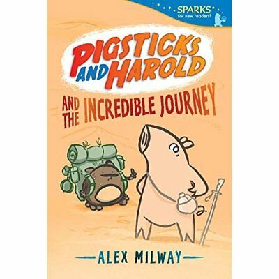 Pigsticks and Harold and the Incredible Journey (Candle - Paperback NEW Alex Mil
