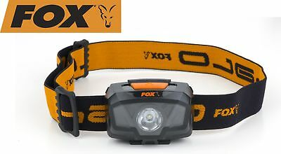 Fox Halo 200 Headtorch - Kopflampe, Angellampe, Lampe für Angler, Anglerlampe